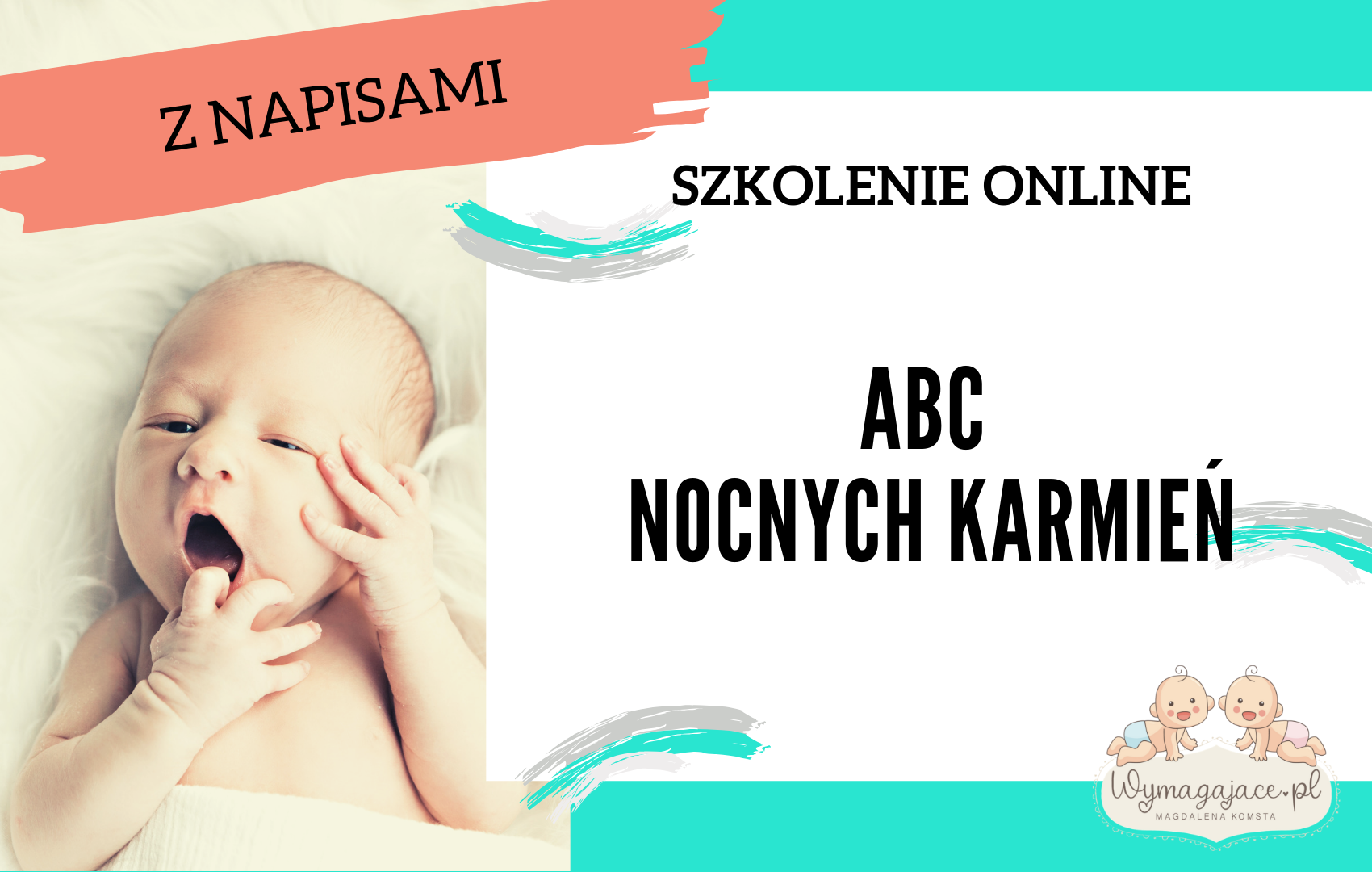 """Szkolenie online """"ABC nocnych karmień"""